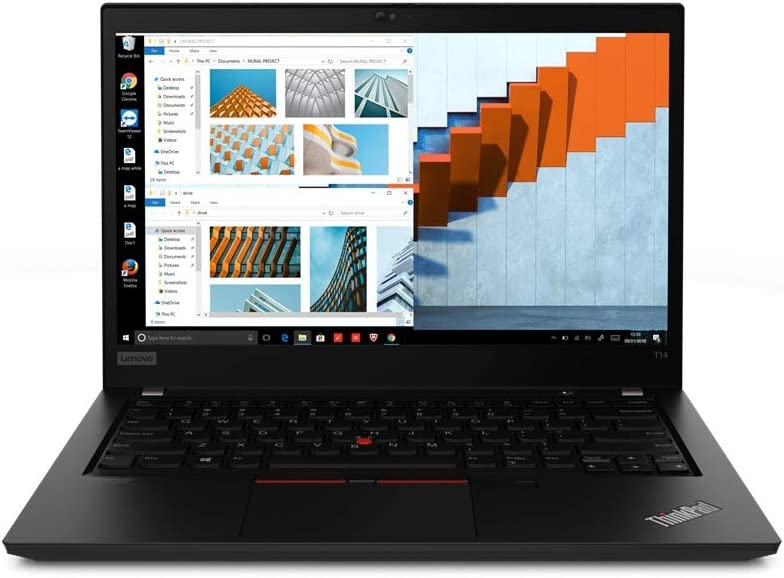 "Lenovo ThinkPad T14 Gen 1 14"" FHD (1920x1080) IPS 250nits Anti-Glare Display - Intel Core i7-10510U Processor, 16GB RAM, 1TB PCIe-NVMe SSD, Windows 10 Pro 64-bit"
