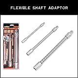 HORUSDY 3-Piece Flexible Socket Extension Bar Set