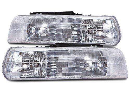 02 Chevy Silverado Headlamp - 6