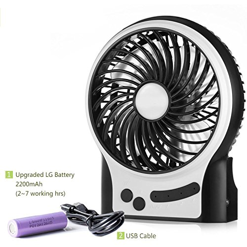 Small Quiet Electric Fans : Portable usb mini fan glamouric quiet electric