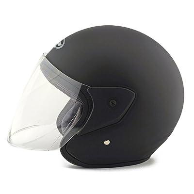 Moto Scooter casque de sécurité 218Dullo Noir