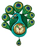 Allen Designs Pretty Peacock clock Review
