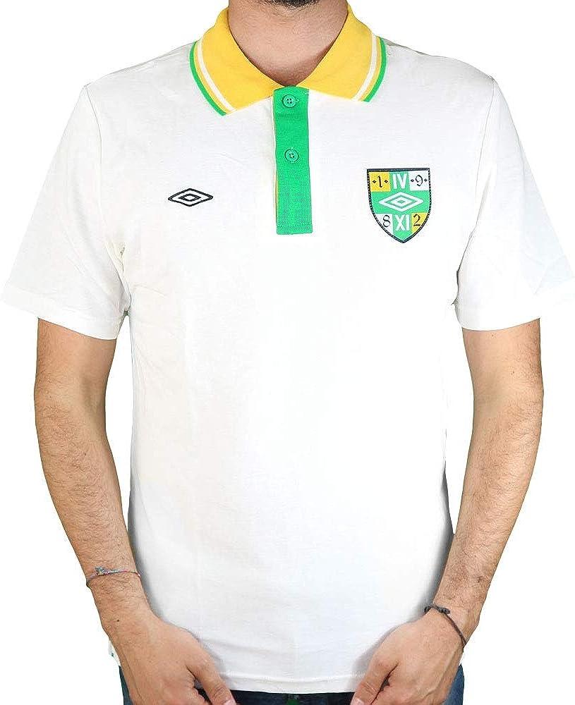 Umbro - Polo - para Hombre White Art.p106 XL/50: Amazon.es: Ropa y ...