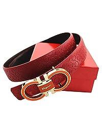 Ferragamo Adjustable Belt Red