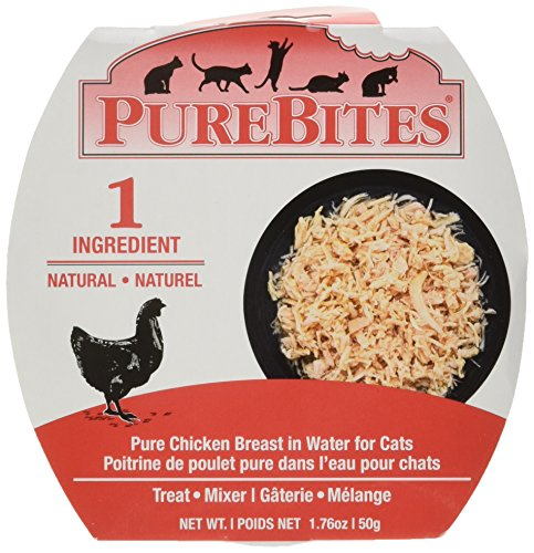 (Purebites Mixers Chicken Breast In Water For Cats, 1.76 Oz / 50 G, Case Of 12)