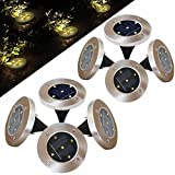 Inground Solar Light 5 LED Buried Grass Yard Garden Home Decor Night Lights Review