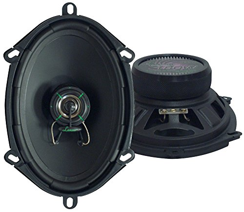"Lanzar Upgraded VX 6.8"" Pair of 2 Way Car Speaker - Powerful 180 Watts 30 Oz Magnet Structure 4 Ohms 54 - 22KHz Frequency Response w/ 1"" High Temperature Voice Coil and Neodymium Dome Tweeter - VX572"