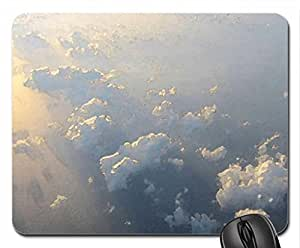 Clouds Mouse Pad, Mousepad (Sky Mouse Pad, 10.2 x 8.3 x 0.12 inches)