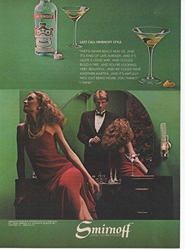 - Vintage Magazine Print Ad: 1981 Smirnoff Vodka,
