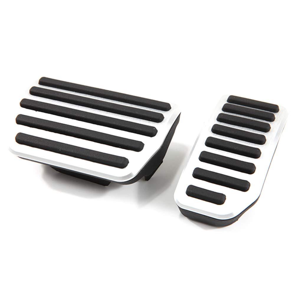 CHWJX Accesorios del Coche Pedal del Freno del Acelerador Juego de Pedales Modificado para Volvo Xc60 S60 S80L S60L V60 V70