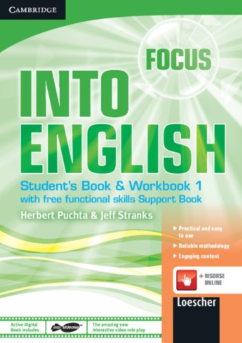 Download Focus-Into English Level 1 Student's Book and Workbook with Audio CD, Active Digital Book and Support Book Italian Edition pdf