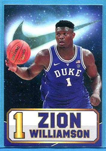 Amazoncom Zion Williamson 2019 Duke Blue Devils Shoes Rookie