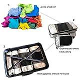 Travel Packing Cubes Set Luggage Storage Organizer