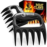 Mountain Grillers Bear Claws Meat Shredder for BBQ - Perfectly Shredded Meat, These are The Meat Claws You Need - Best Pulled Pork Shredder Claw x 2 for Barbecue, Smoker, Grill (Black)