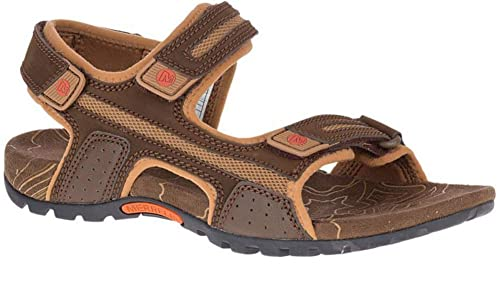 e149765b841c2 Merrell Sandspur Oak Mens Touch Fasten Strap Sport Walking Sandals UK 6    EU 40 Brown