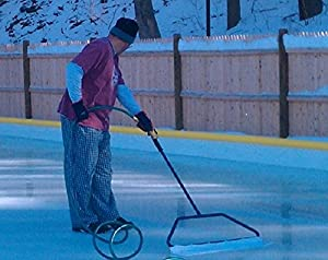 Backyard Ice Rink Accessories   32 Inch Ice Master Economy Portable Groomer