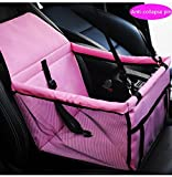youyoubang 2018 Upgraded Version of Portable pet Dog Booster car seat with Clip-Type Safety Lead – Suitable for Small and Medium Pets, up to 30 pounds For Sale