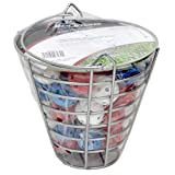 Orlimar Golf 48 Practice Balls with Range Bucket, Red