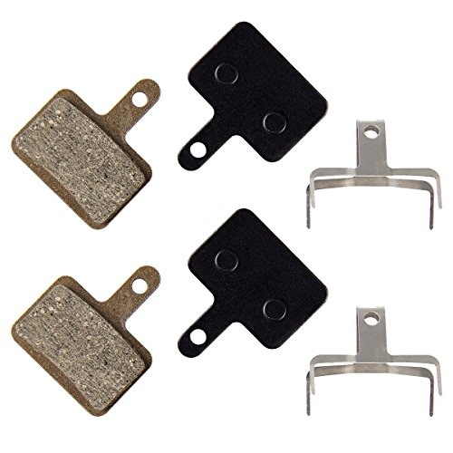 PAMASE Bike Disc Brake Pads for Shimano Deore M575/ M525/ M515/ M495/ M486/ M485/ M475/ M446/ M465/ M447/ M446/ M445/ M416/ M415/ M395/ M375 (New Tektro Mtb Bike)