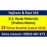 VAJIRAM & RAVI IAS Full Set GS (PT+Mains) Study material for IAS Exam (Latest 2018)(28 Booklets)