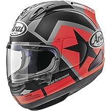 Arai Helmets 807602 Corsair-X Vinales-2 Helmet (Red/Black, Medium)