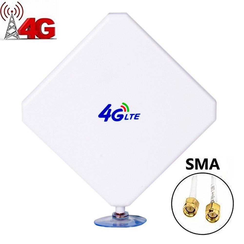 SMA 4G Hochleistungs LTE Antenne 35dBi Netzwerk Ethernet Verstä rker-Antenne Omnidirektionale Antenne Signalverstä rker Verstä rker fü r Huawei B593/B880 ZTE MF28G MF29S2 MF28D Vodafone B300 B400 etc Aigital