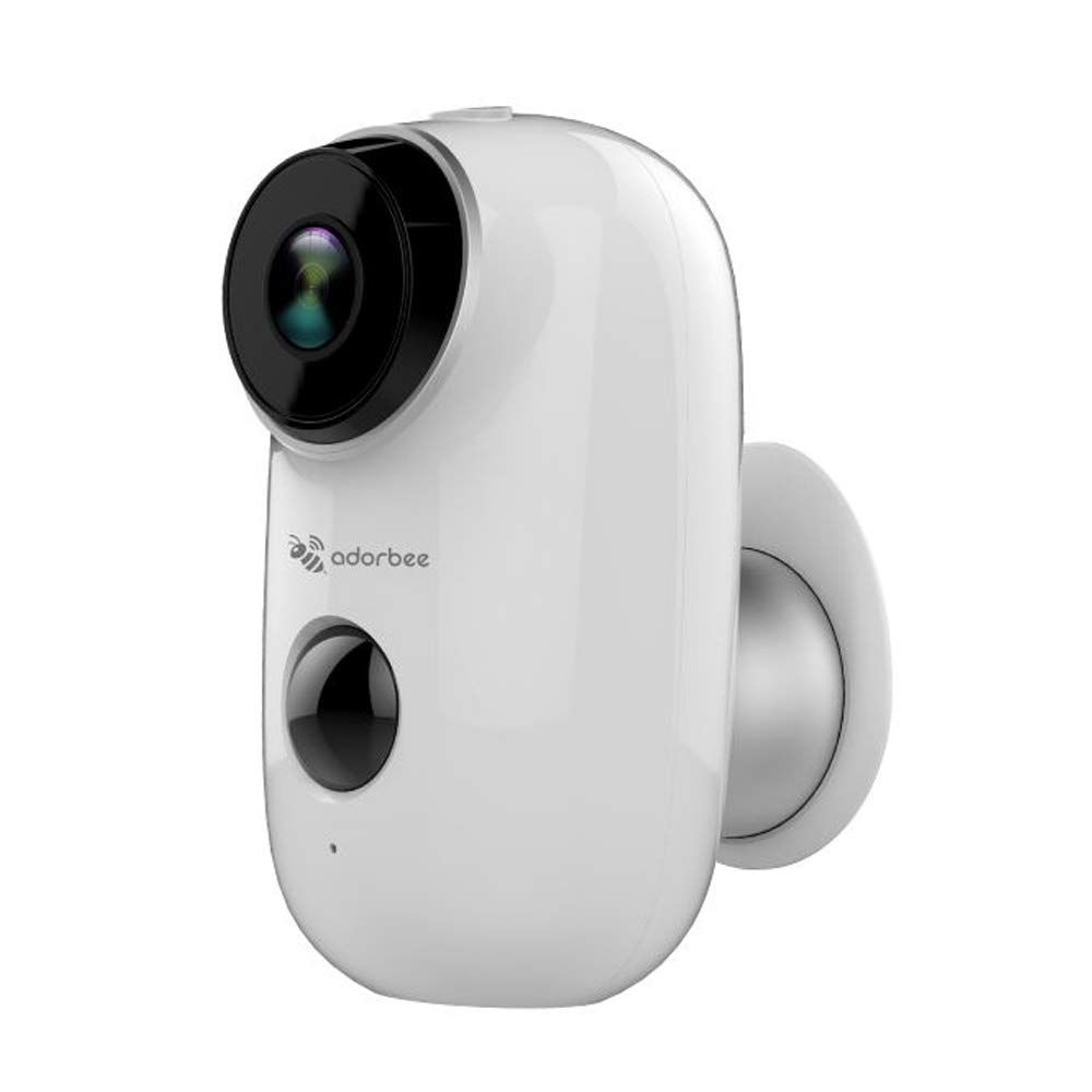Adorbee WiFi Outdoor Security Camera Wireless - Rechargeable Battery Powered Video Surveillance System IP66 Waterproof CCTV House Monitor HD 720P