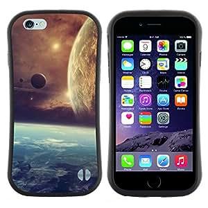 """Pulsar iFace Series Tpu silicona Carcasa Funda Case para Apple Iphone 6 Plus / 6S Plus ( 5.5 ) , Extranjero de espacio Planetas Cosmos Universo del cúmulo de estrellas"""""""