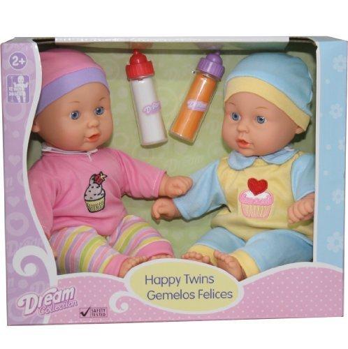 12'' Baby Twins Dolls 1 Boy & 1 ...