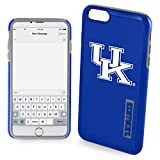 NCAA Kentucky IPhone 6 Plus Dual Hybrid Case (2 Piece), Blue