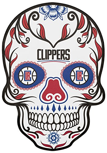 Applied Icon, NBA Los Angeles Clippers Large Skull Primary Decal ()