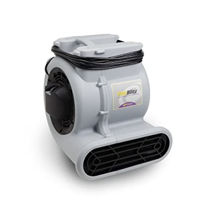 ProTeam 107132 ProBlitz Air Mover Fan, Utility Fan, Carpet Dryer, High Velocity Blower