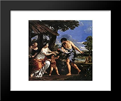 Amazon.com: Romulus and Remus Given Shelter by Faustulus 20x24 ...