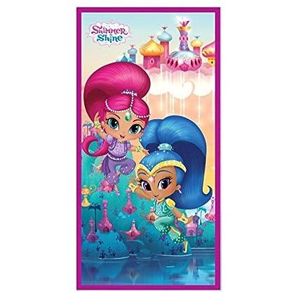 Toallas y Ponchos disney infantiles licencia varios modelos a elegir. (Toalla Shimmer y Shine