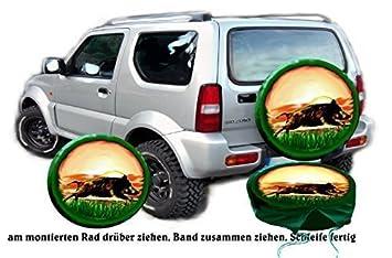 Funda para rueda de repuesto protectora flücht Ender Keiler para su Suzuki: Amazon.es: Coche y moto