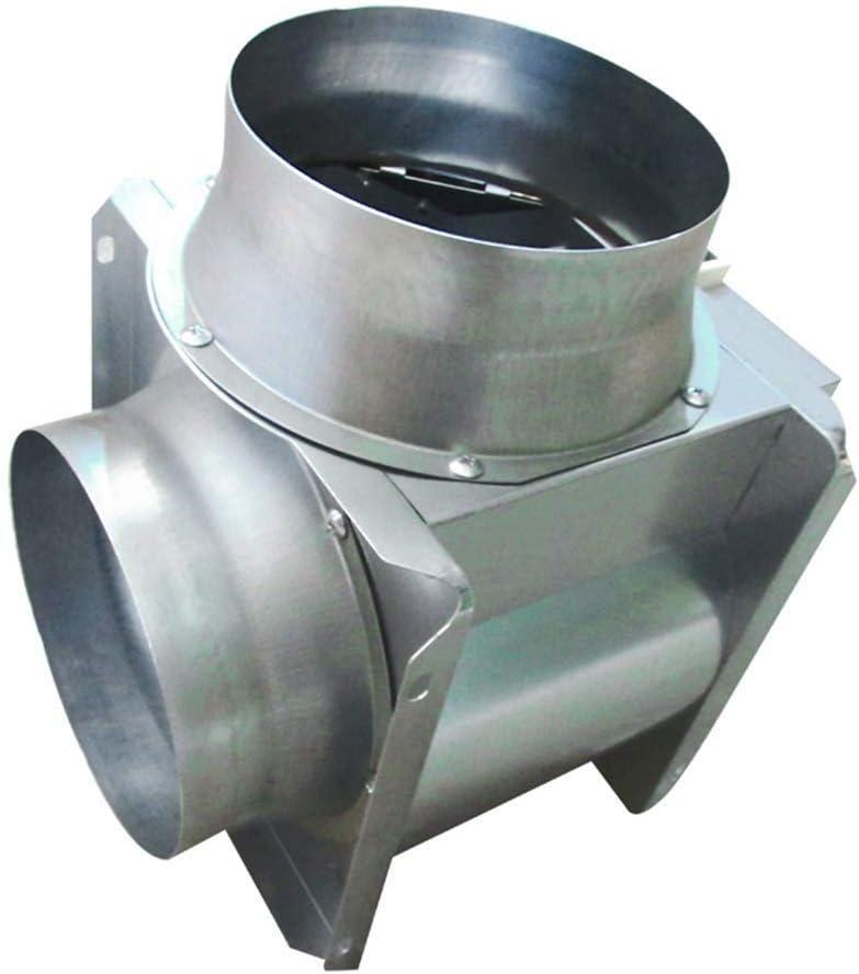 JJZXT Conducto de ventilación del Ventilador, silencioso conducto de ventilación del Ventilador, en línea Booster conducto del Ventilador de bajo Ruido Extra Largo