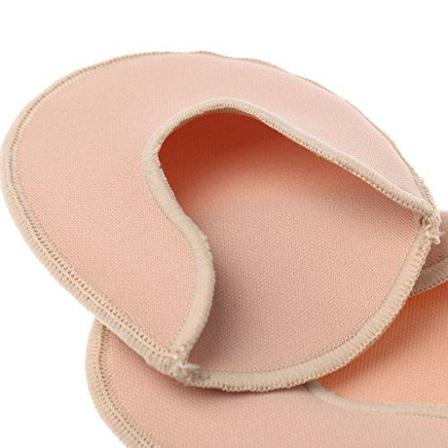 MagiDeal 1 Paio Di Puntali A Maglia + 1 Paio Di Gel-toe Tappi Di Protezione Per Il Balletto