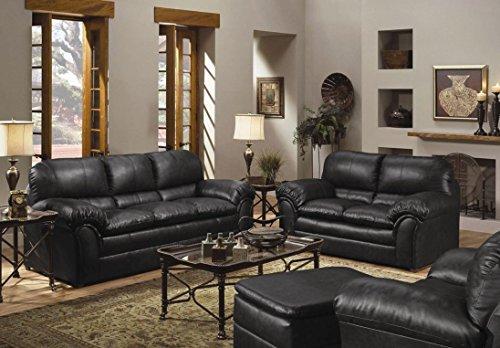 GTU Furniture New Faux Leather Sofa and Loveseat Living Room Furniture Set - Room Furniture Living
