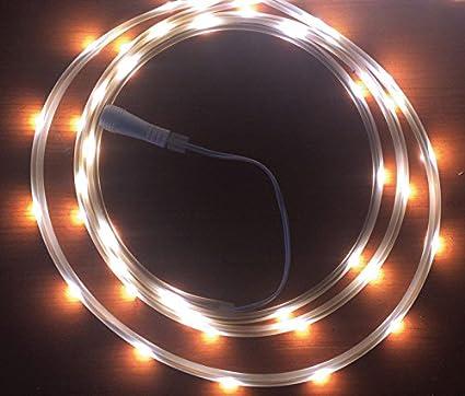 Celebrations LED Flex Tape Rope Lights Cool White 16 5 Feet 99 Count