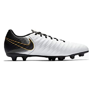 best website 11a60 9bb9a Amazon.com | Nike Tiempo Legend 7 Club White/Black Gold Mens ...