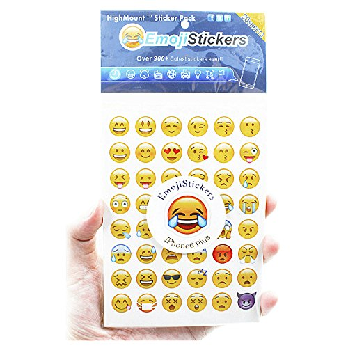 Emoji Stickers 20 Sheets with Same Happy Faces Christma Kids