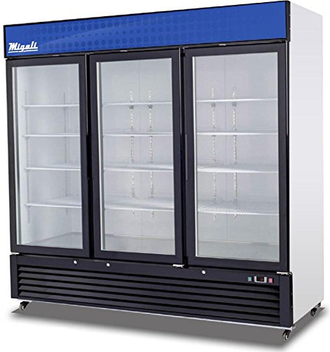 3 Glass Door Refrigerator - 7