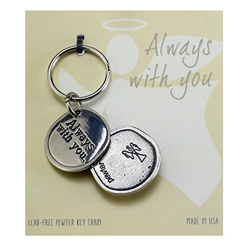 Crosby & Taylor Angel Always with You Pewter Sentiment Key -