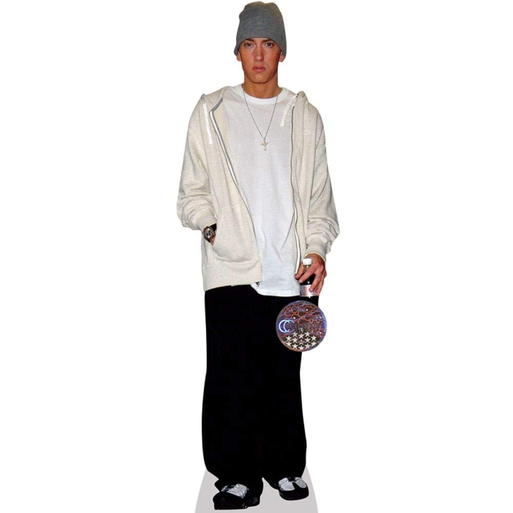Eminem (White) Life Size Cutout Celebrity Cutouts