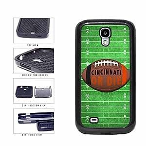 Zheng caseCincinnati or Die Football Field 2-Piece Dual Layer Phone Case Back Cover Samsung Galaxy S4 I9500