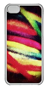 Personalized iPhone 5c Cases - Unique Cool Design Colorful Abstraction 2