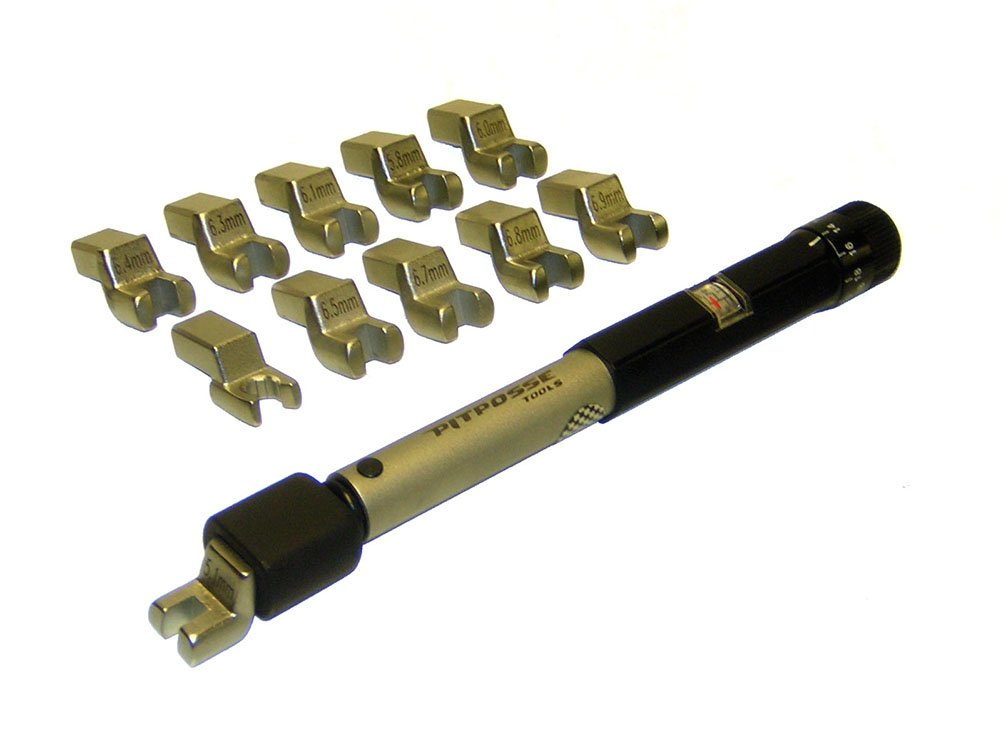 Pit Posse PP2646 Motorcycle Wheel Spoke Torque Wrench Key Universal Tool Mx