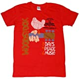 ウッドストック Tシャツ 赤 WOODSTOCK 正規品 ロックTシャツ関連