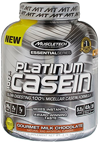 MuscleTech 1.68 kg Milk Chocolate Platinum Pure 100 Percent Casein