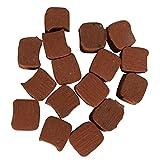 Sthus 15Pcs Rubber Clutch Pads Square Shape for